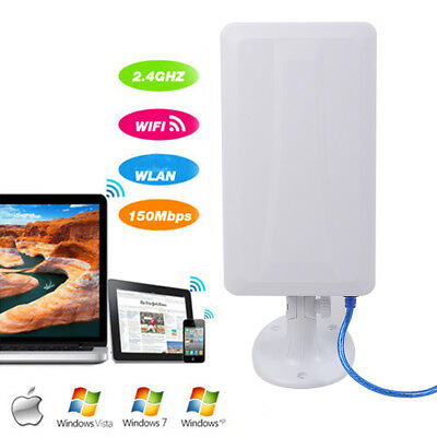 WiFi Antenna Long Distance booster Wireless up to 1200 M Away Hot Spots Outdoor