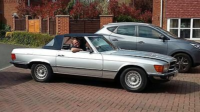 1984/B-Mercedes 380 SL R107 Convertible. 77k, Leather, Rear seats.