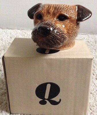 Graham and Green - Border Terrier-  Ceramic Egg cup - Brand New! -  Boxed