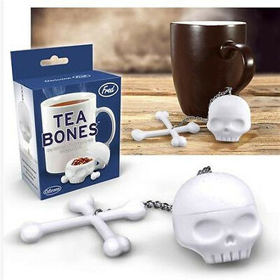 Fred - TEA BONES - Tea Infuser For Loose Tea- the creepy tea steeper - FFTBONE