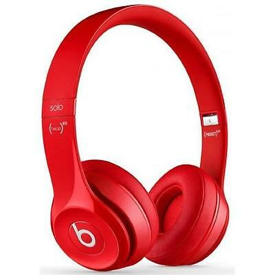 Beats By Dr Dre Solo 2 Red Headphones 100% Genuine