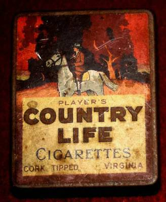 Vintage Country Life Cigarette Tin.