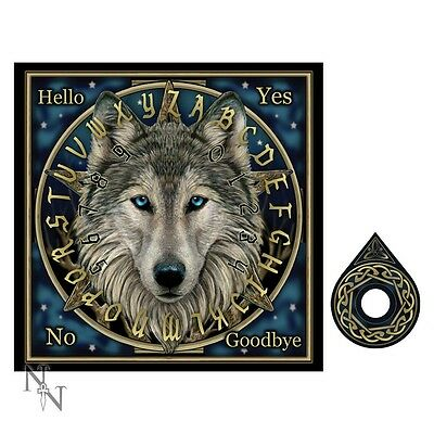 WOLF SPIRIT OUIJA BOARD WEEGI oujia SPIRIT WICCAN & WITCHCRAFT NEW NEMESIS NOW