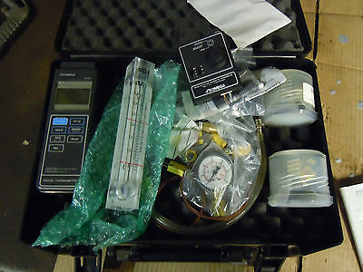 Thermocouple calibrator Omega digital thermometer flow meter Zevac simulator