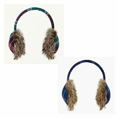 Ness Tilly Earmuffs - Owl Classic & Tapestry Check