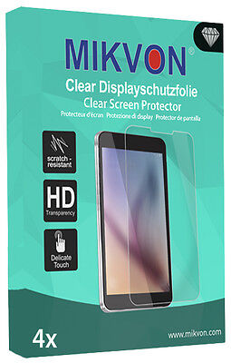 4x Mikvon Clear Screen Protector for Fossil Q Founder 2.0 Retail Package