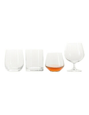 NEW Vue Assorted Whiskey Glasses, Set of 4