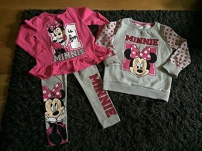 Girls Minnie Mouse Clothes Bundle, Age 6-7 / 5-6 years