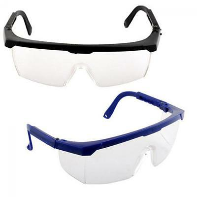 Eye Curing Lab  Clear Lens Goggles Adjustable Safety Protection Glasses