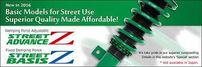 TEIN Street Advance Z Coilovers for Honda RSX (DC5) 3 Door, 4 Cylinder