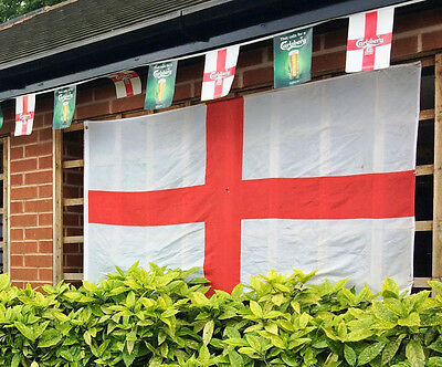 England St George Giant Flag 8ft x 4ft / 2.4m x 1.2m Over 300 Sold!