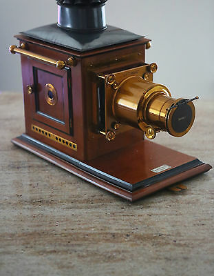 "ANTIQUE MAHOGANY ""OPTIMUS"" MAGIC LANTERN PROJECTOR , PERKEN,SON & C0. Ltd."