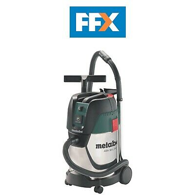 Metabo ASA 30 L PC  240v Inox Vacuum with Stainless Steel Tank