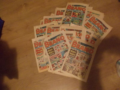 A Collection Of 58 The Beano Comics From The Years 1985 And 1986