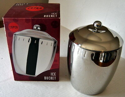 Copco Stainless Steel Ice Bucket -  Wine Chiller Champagne Cooler Barware 3 Qt.