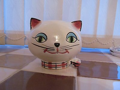 CAT STRING HOLDER  RETRO LATE 50's EARLY 60's L@@K