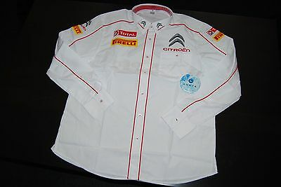 Chemise CITROËN RACING, Taille L  - Exclusif !