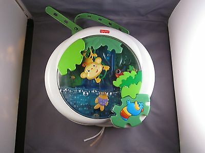 Fisher Price Ocean Wonders Aquarium Musical Light Up Mobile Crib Soother Toy