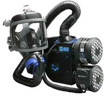 Scott SEA Premium SE400 Powered Gas Mask System with Harness