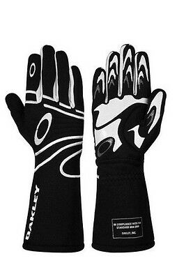 New Oakley FR Driving Glove - Black -94106-001-XL Racing Gloves X-Large Nomex
