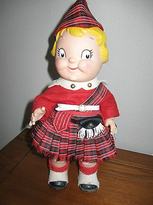 Vintage 60'S Campbell's Soup Kid Doll In Scottish Kilt All Original
