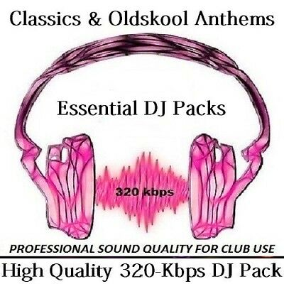 1990s classic collection of Uplifting Old Skool, House, Rave, Piano  40gb