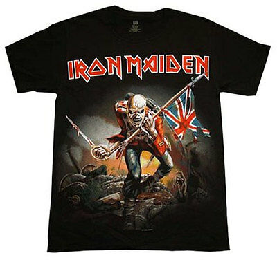 Iron Maiden Trooper Official Child's T-Shirt Age 2, 3, 4 Years