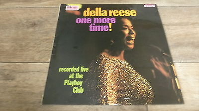 Della Reese - One More Time! Live at The Playboy Club  1967 UK LP HMV 1st STEREO