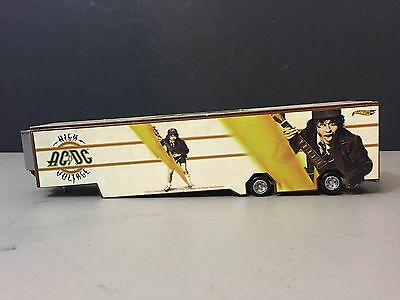 Hot Wheels ac/dc high voltage semi Truck Trailer Only