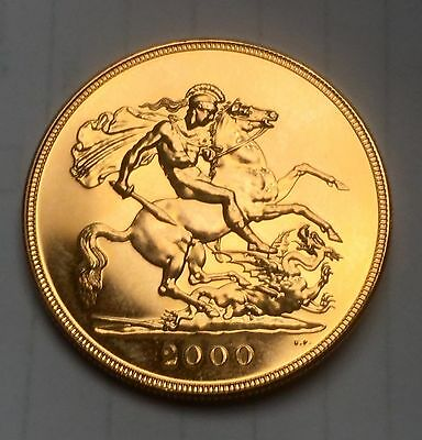 2000 GOLD FIVE POUND COIN LOOSE. 40.2 Gram