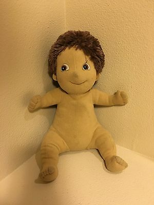 Rubens Barn Ark Boy Doll Brown Brunette Hair
