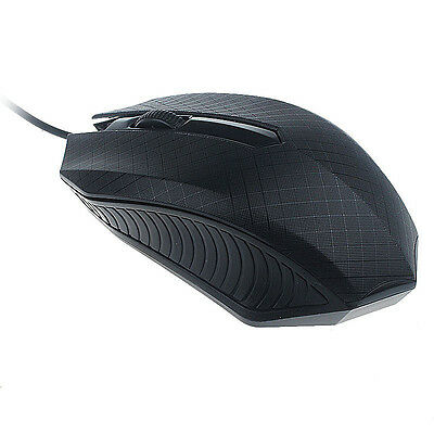 HOT For PC Laptop Fashion 1200 DPI USB Wired Optical Gaming Mice Mouse