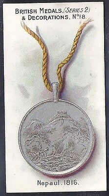 Taddy-British Medals & Decorations (Steel Back)-#18- Quality Card!!!