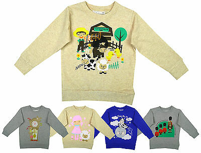 Baby Toddler Nursery Rhyme Print Jumper Top 6 Months to 6 Years CLEARANCE SALE