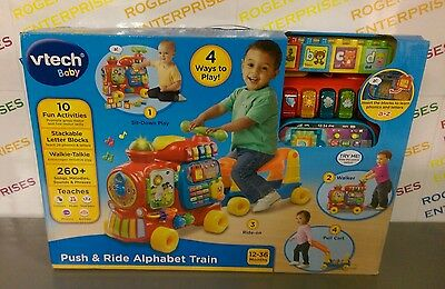 VTech Baby Push & Ride Alphabet Train NEW & Boxed