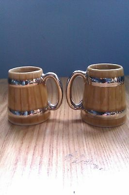 Pair of Wade small Cups