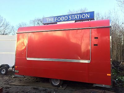 Wilkinson Catering Trailer,fully fitted,pitch available