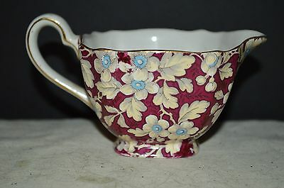 Lord Nelson Ware Royal Brocade Chintz Creamer