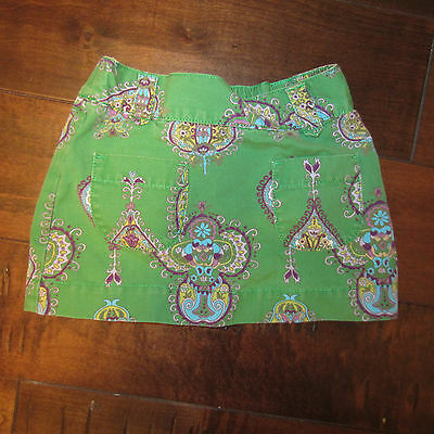 baby Gap Toddler Girls Green Paisely Print Size 3T Skirt