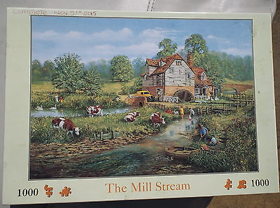 """jigsaw puzzle, titled """"The Mill Stream"""""""