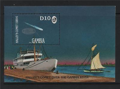 Gambia 1986 Halley's Comet SG MS640 MNH