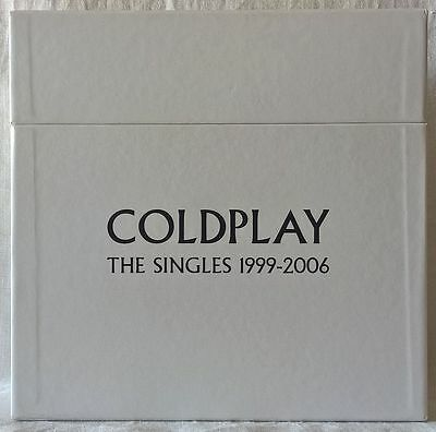 """COLDPLAY THE SINGLES 1999-2006 15 x 7"""" BOXSET LIMITED EDITION"""