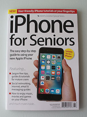 BDM's  iPHONE FOR SENIORS VOL 6 - CREATIVE SPECIAL SERIES - NEW