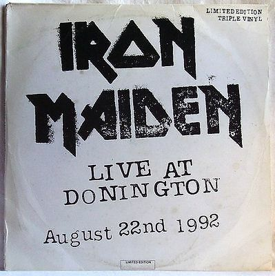 Iron Maiden Live At Donington 1992 3Lp Limited Edition