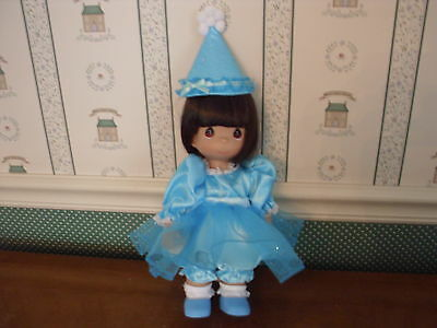 """Precious Moments 12"""" Doll-Birthday Blessings-Brunette-New"""