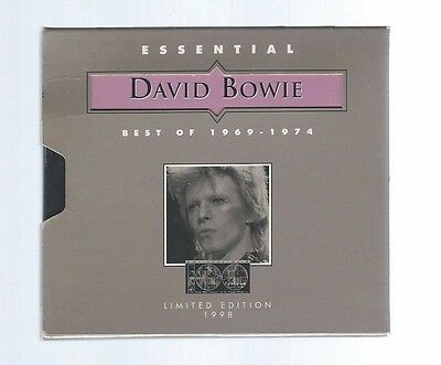 Essential David Bowie: Best of 1969-1974  Limited Edition CD