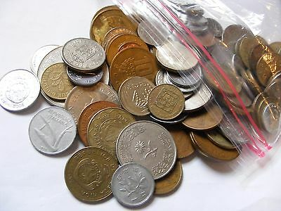 NICE 1/2 pound lot of Old World and Foreign Coins