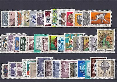 37. Austria, nice lot with MNH stamps