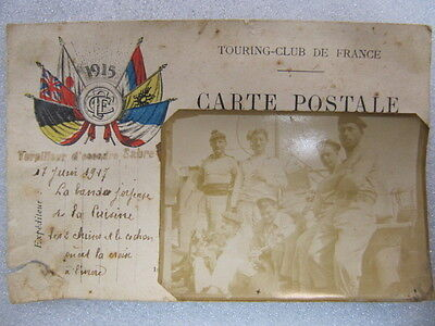 Carte postale photo poilu 17 juin 1917(militaria ww1 1914-1918 1915)