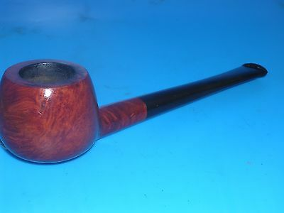 Smoking Pipe Unmarked Lightly Smoked Apple Billiard Estate Pipe VGC